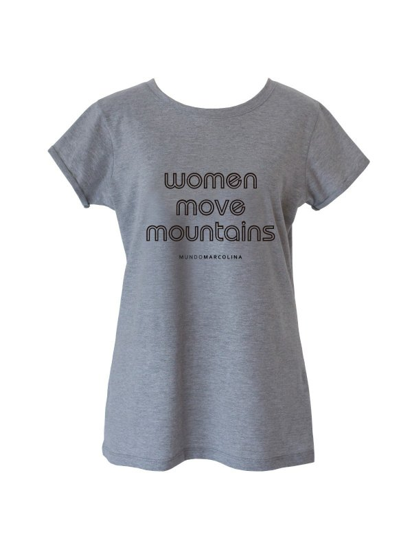 T-shirt Women Cinza