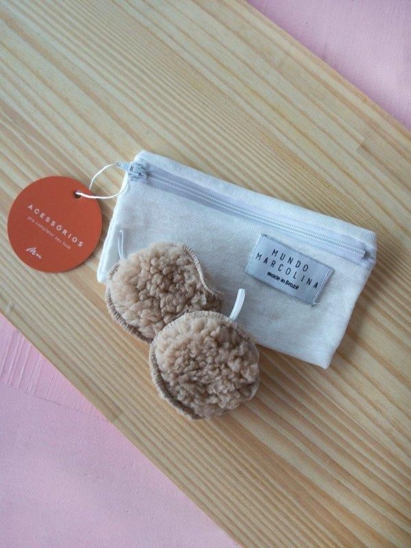 2 Ecopads + bolsinha de Mimo