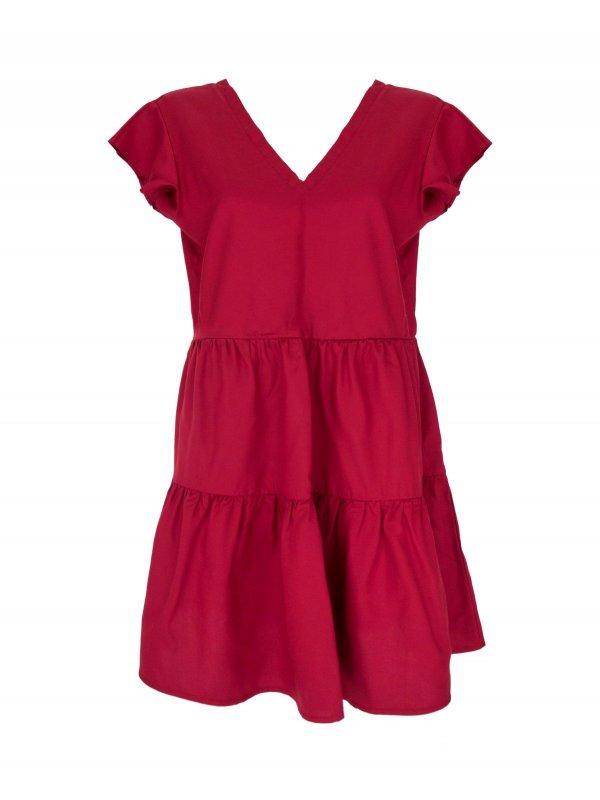 Vestido Samanta Vermelho