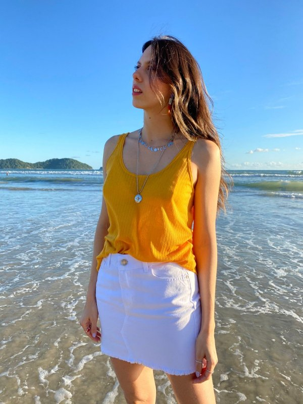 Regata Podrinha Amarelo Solar-main