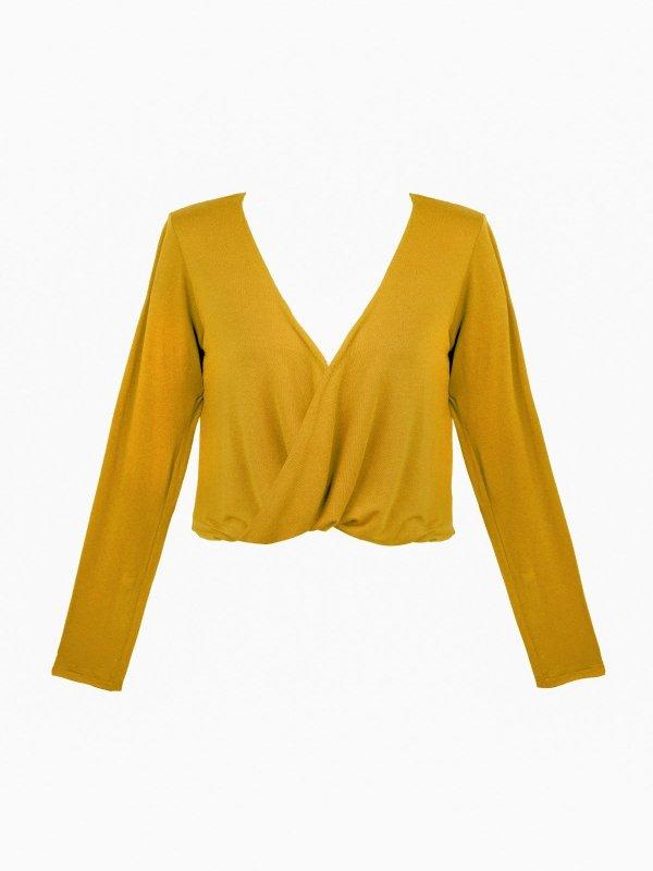 Blusa Mariah Mostarda