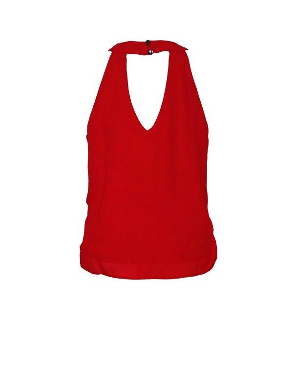 Blusa Amarração Vermelha
