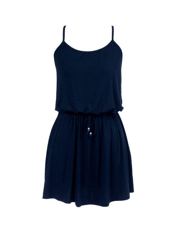Vestido Alice Azul Marinho Curto