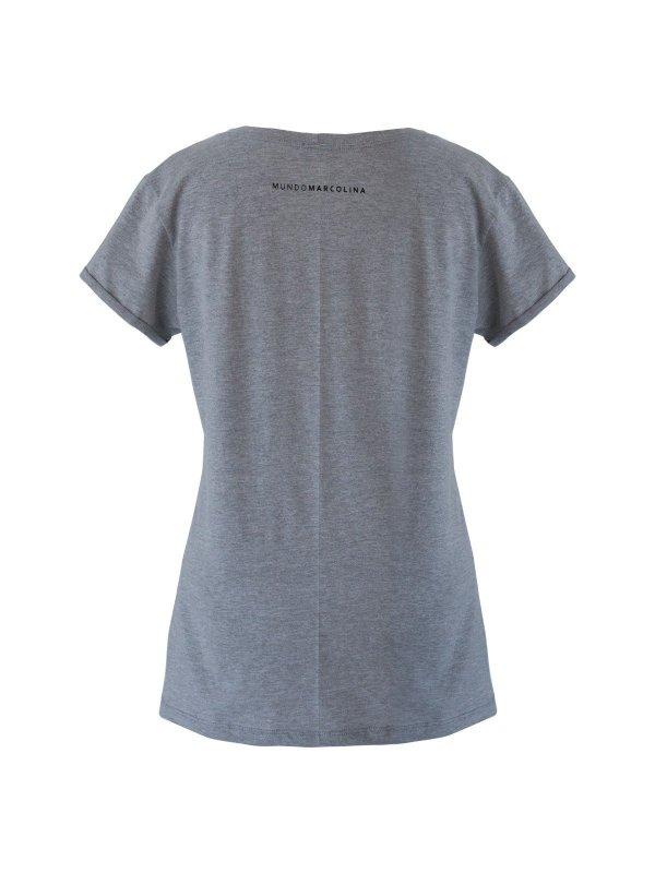 T-shirt Women Cinza