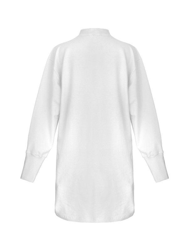 Vestido Moletom Branco