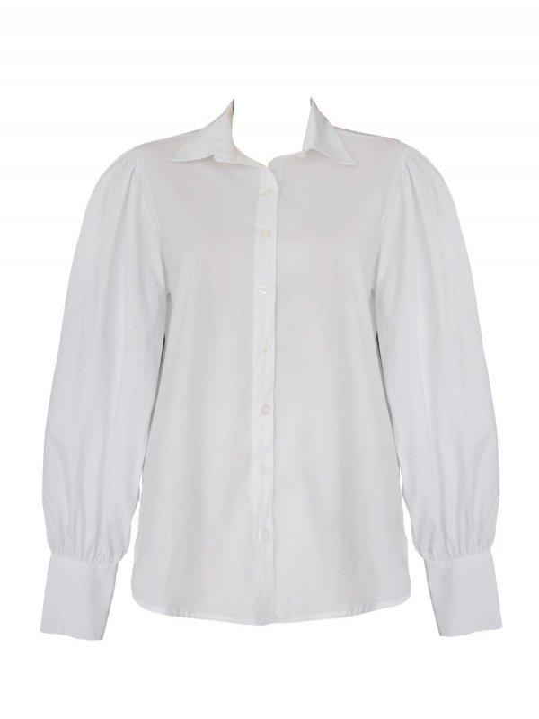 Camisa de Algodão Branca