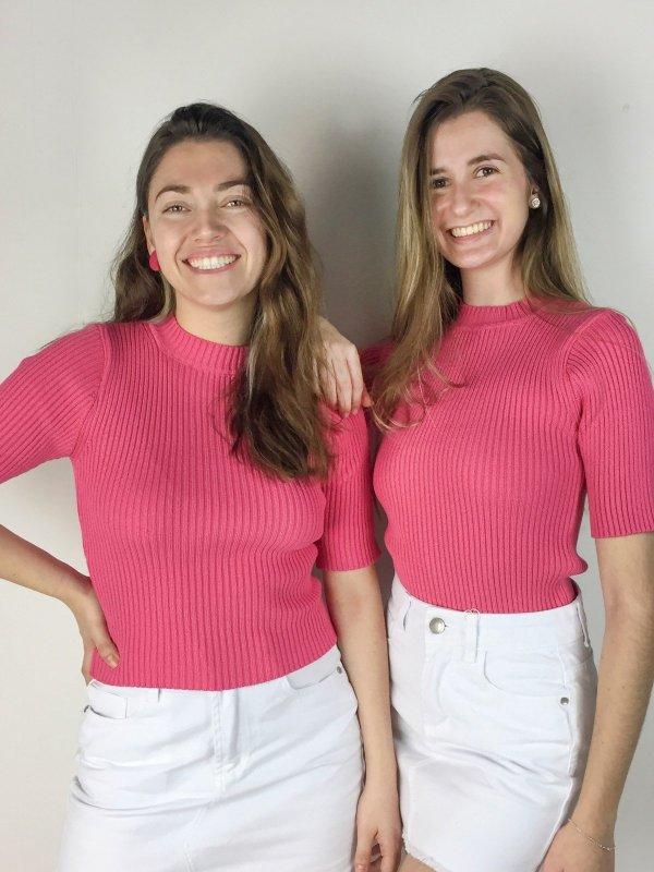 Blusa Luli Rosa -2