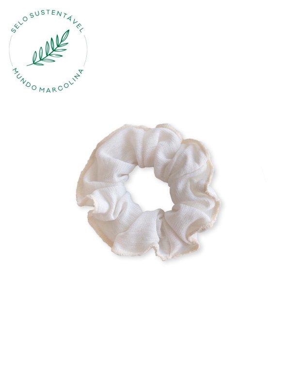 Scrunchie Off White