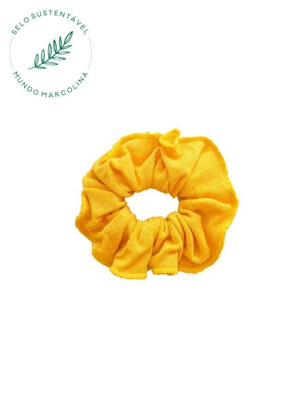 Scrunchie Amarelo Real