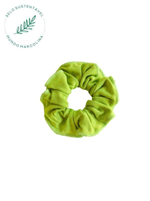 Scrunchie Verde Limão