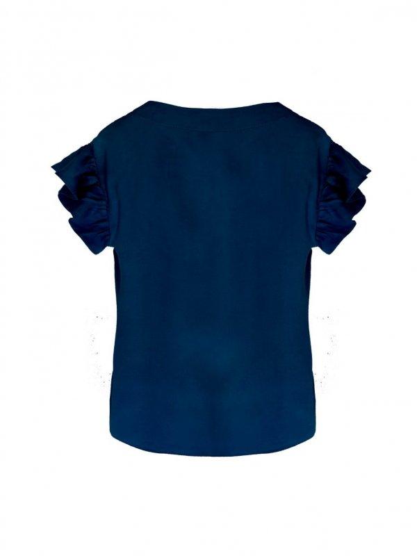 Blusa Brisa Azul Marinho