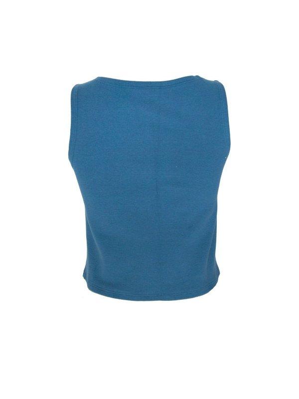 Regata Cropped Thaila Azul