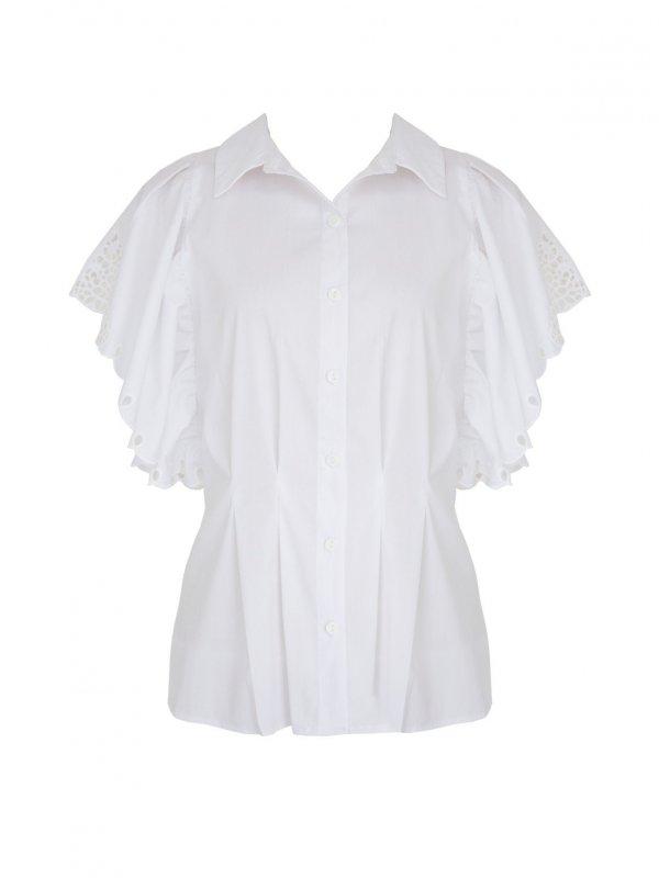 Camisa Branca Richilieu