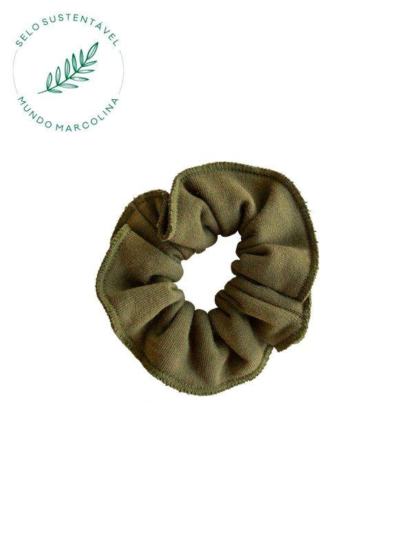 Scrunchie Verde Oliva