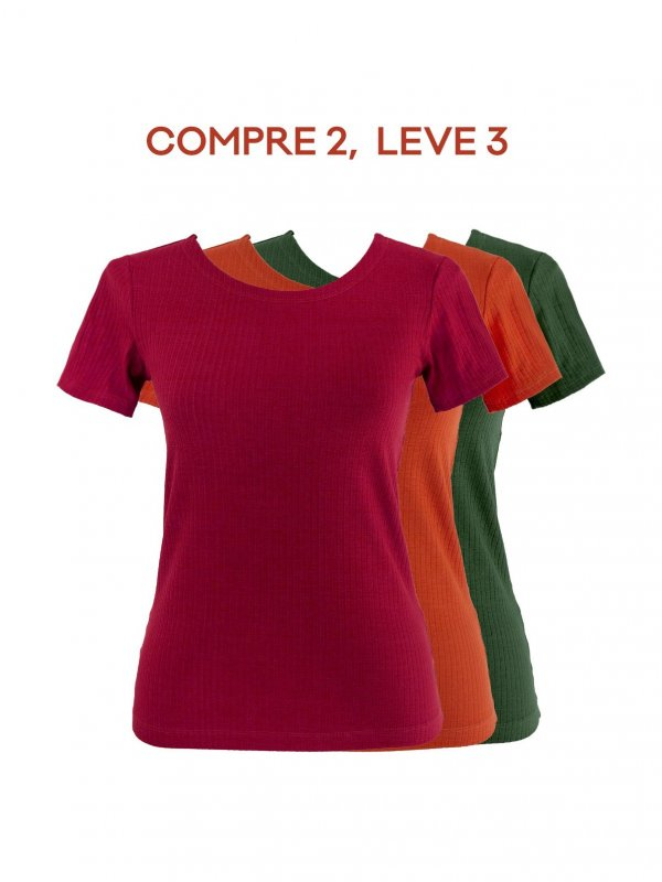 Combo Blusa Marcela: Compre 2, leve 3!