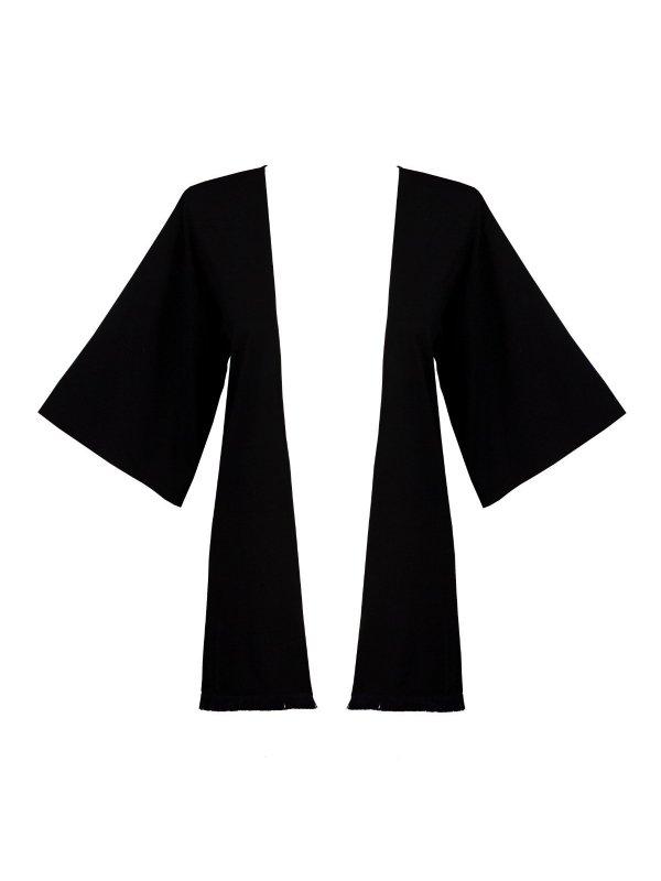 Kimono Preto Franja