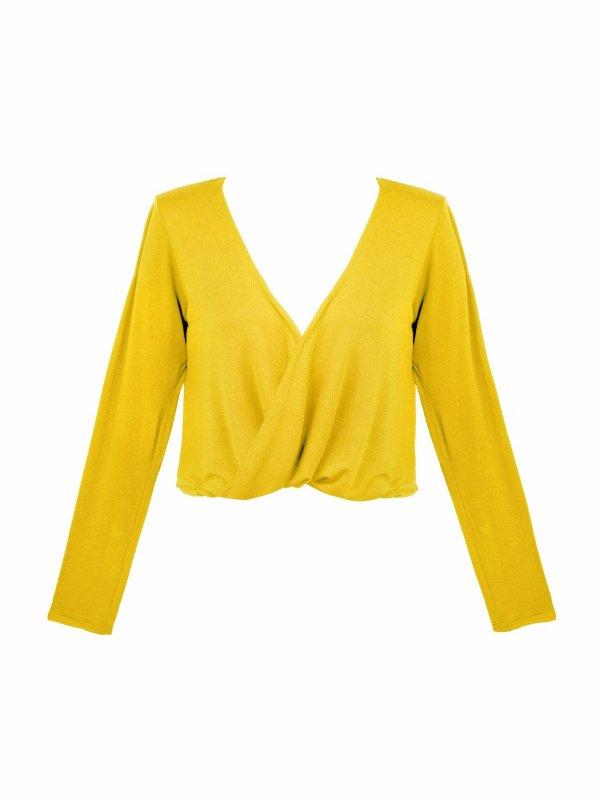 Blusa Mariah Amarelo Real