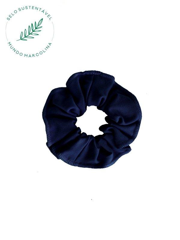 Scrunchie Azul Marinho