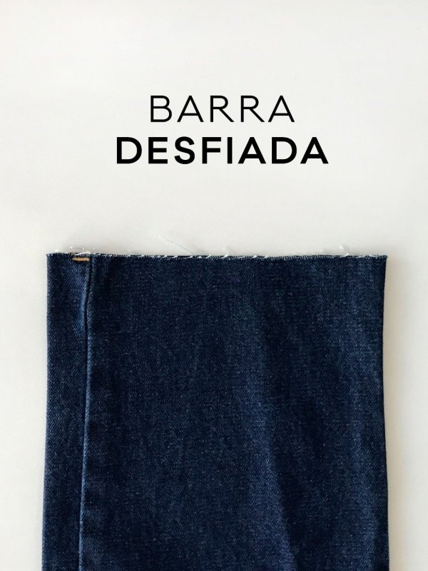 Calça Jeans Reta -7