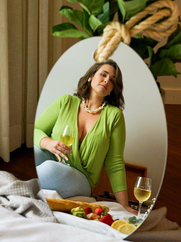 Blusa Mariah Verde Abacate