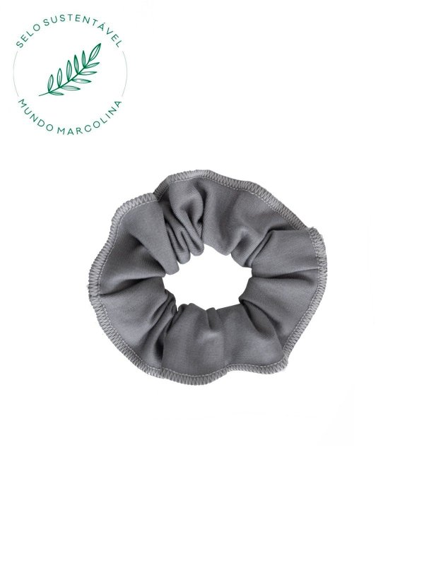 Scrunchie Cinza