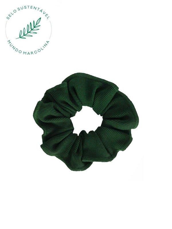 Scrunchie Verde Floresta