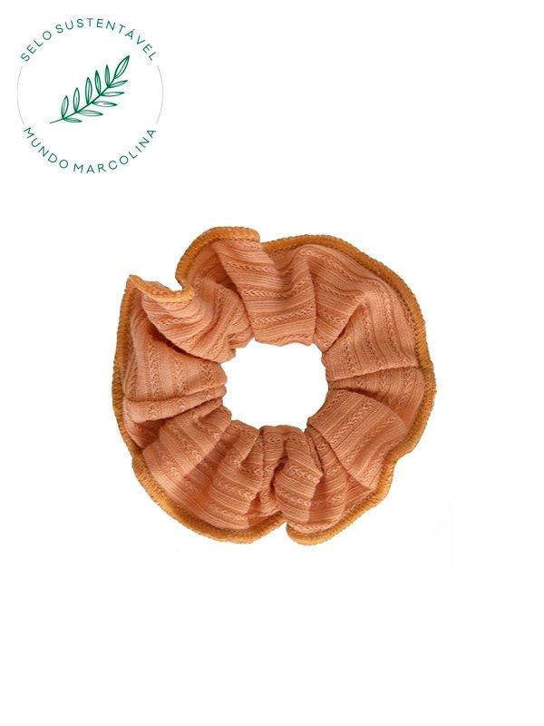 Scrunchie Laranja
