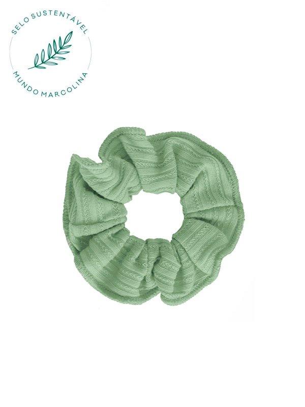 Scrunchie Verde Frescor