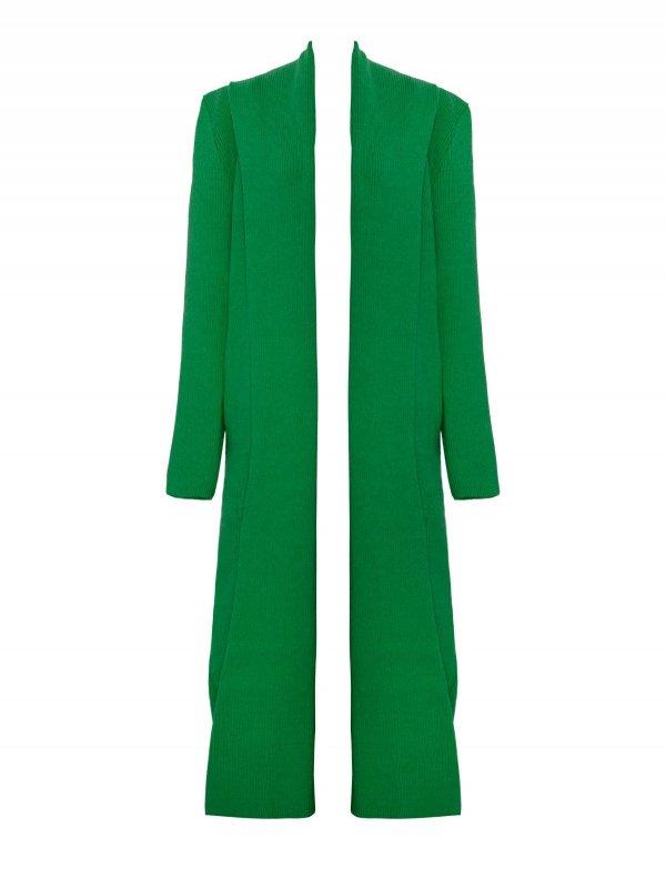 Casaco Canelado Verde Bandeira