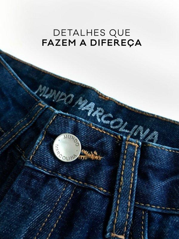 Calça Jeans Reta -9