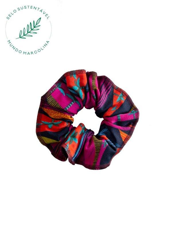 Scrunchie Estampado Colorido