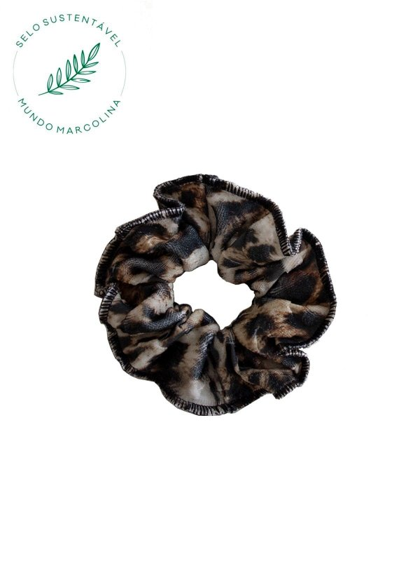 Scrunchie Estampa Animal Print