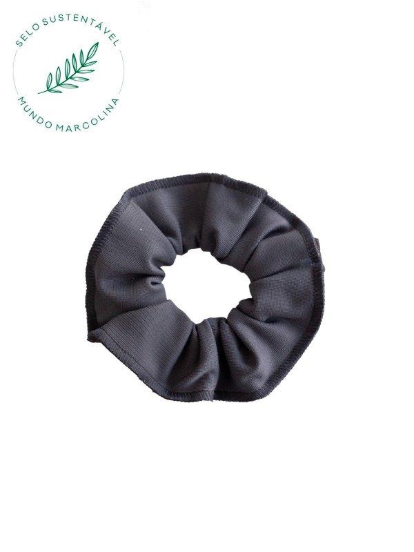 Scrunchie Cinza Escuro