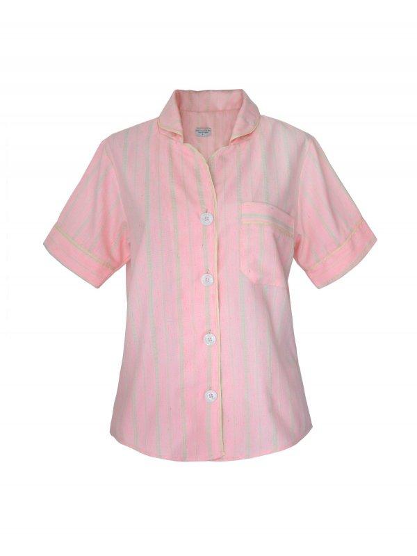 Pijama Curto Rosa Claro-2