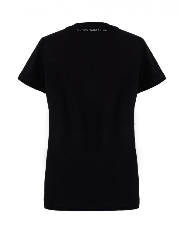 T-Shirt Gola V Preta