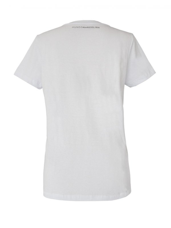 T-Shirt Gola V Branca