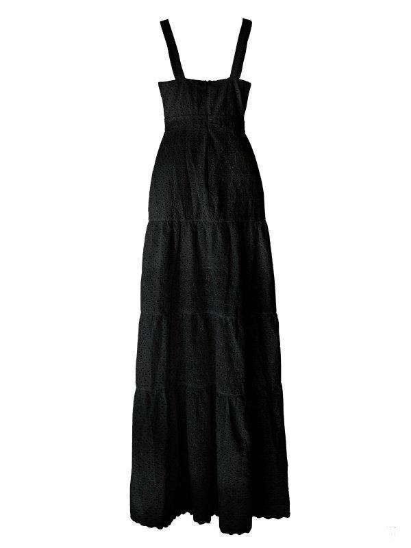 Vestido Longo Lese Preto