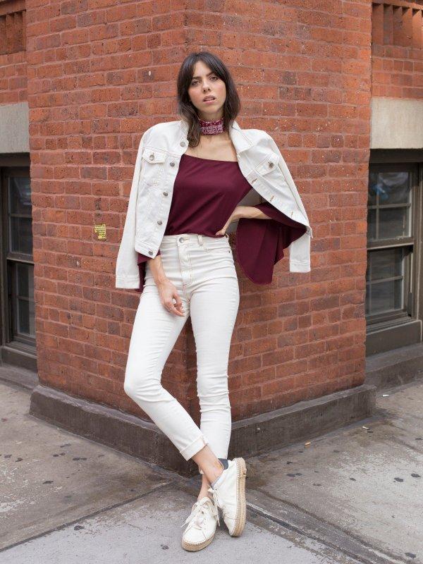 Jaqueta Jeans Off White