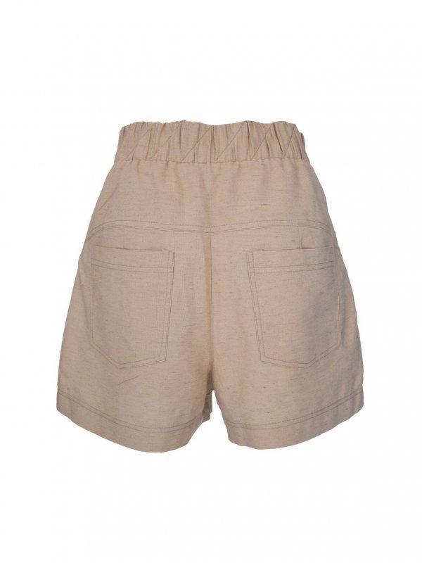 Shorts Marfim