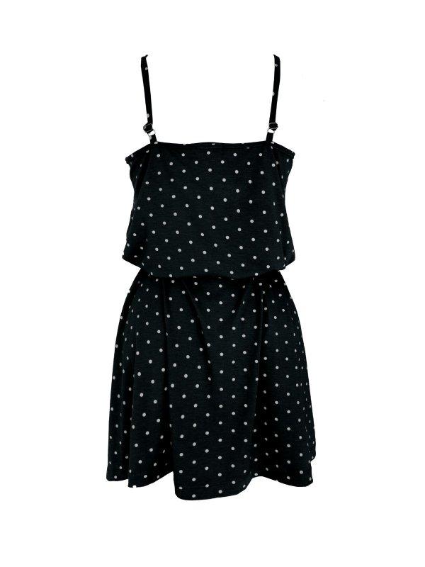 Vestido Alice Poá Preto-2