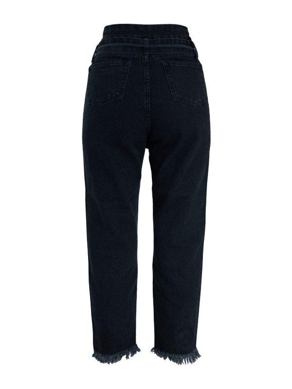 Calça Jeans Raíssa Destroyed Black
