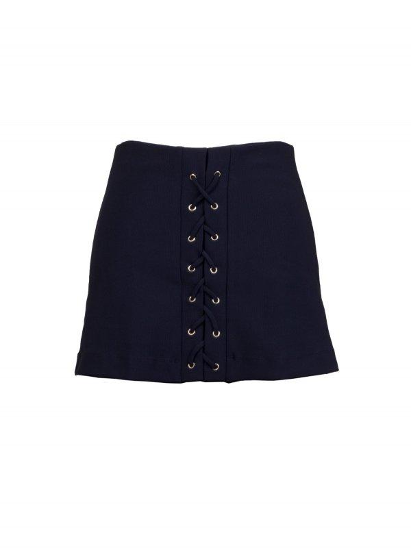 Shorts Saia Ilhós Preto