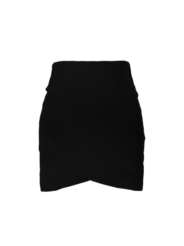 Shorts Alfaiataria Couro Rosa