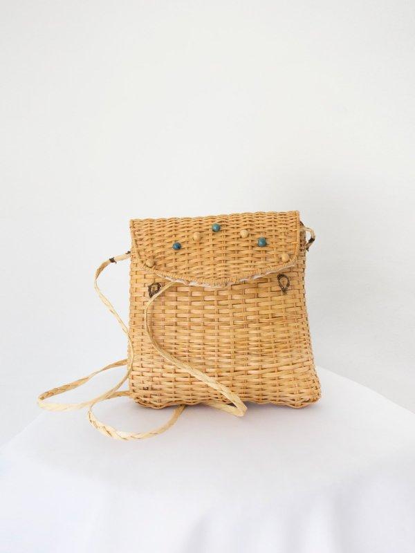 Bolsa de palha quadrada 02