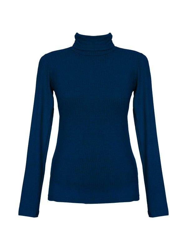 Blusa Fabiana Azul Profundo