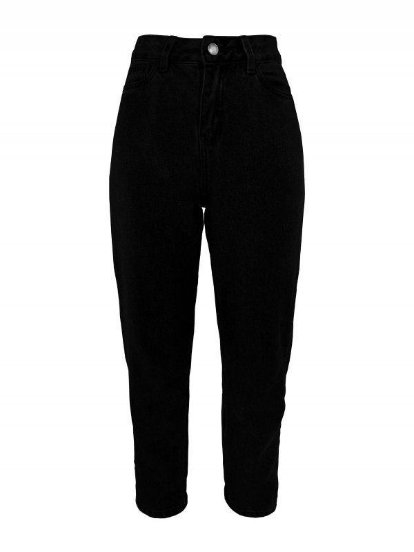 Calça Mom Jeans Black