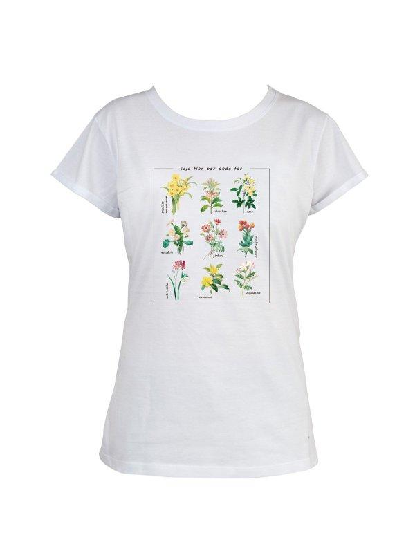 T-shirt Botânica