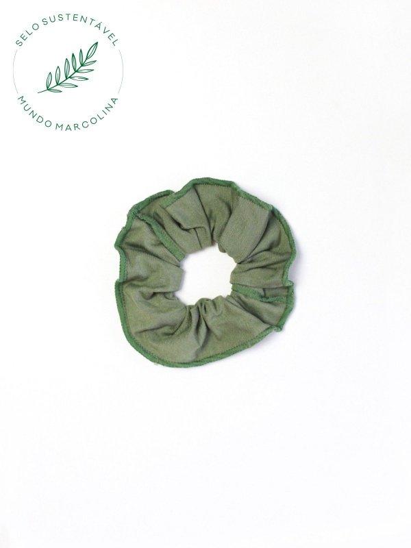 Scrunchie  Verde Militar
