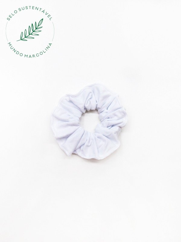 Scrunchie Branco