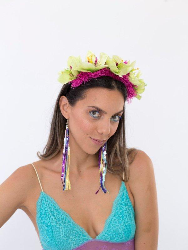 Tiara Orquídea